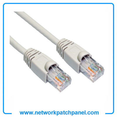 3FT 5FT 6FT 9FT 7FT 350MHZ Cat5e Crossover Gray China RJ45 Patch Cord Patch Cable Manufacturers
