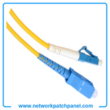 3M LC-SC Simplex 9125 SingleMode SM Fiber Optic Cable Patch Cord Jumper