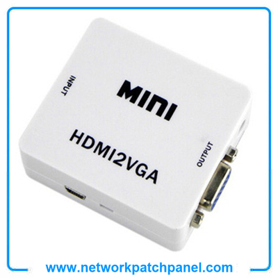 China MINI HDMI2VGA HDMI TO VGA Converter Adapter Manufacturers