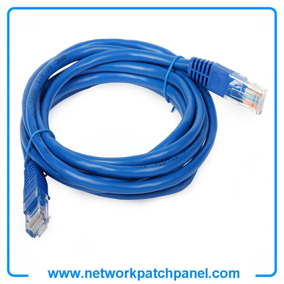 2FT 3FT 5FT 7FT Cat5e Cat6 Blue Ethernet Network Cable Patch Cord