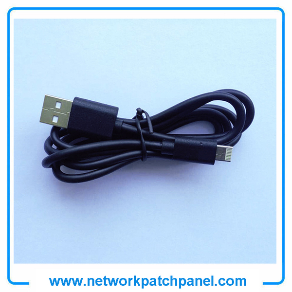 USB Android Apple Iphone Charger Cable Black