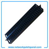 1U 48 Channel Network Patch Panel Cable Management Wire Management