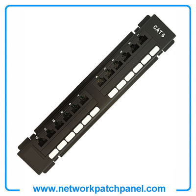 12 Port STP Shielded Cat6 NetWork Patch Panel RJ45 Patch Panel Manufacturers