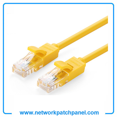 2FT 3FT 4FT 5FT 6FT 7FT 9FT Cat5E Cat6 Cat7 Yellow Network Ethernet Cables, Networking Cables