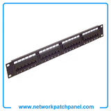 "China Cat5e Cat6 19"" RJ45 24-Port Patch Panel Manufacturers"