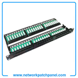 19 Inch 2U 48 Port UTP Cat3 110 Type Patch Panel