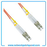 300M LC-LC Duplex 50/125 Multimode Fiber Optic Patch Cable Cord Jumper Orange