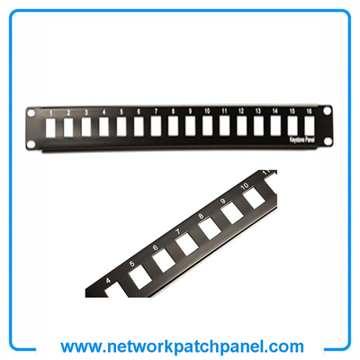 Cat6 Shielded 16 Port Blank Patch Panel Free Krone Tool