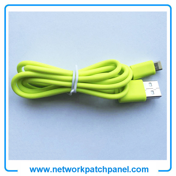 USB Android Apple Iphone Charger Cable Green