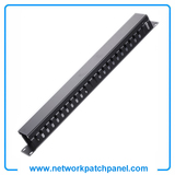 1U 24 Channel Metal Cable Management Wire Management China Metal Cable Management Manufacturers