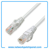 5ft 9ft 15ft 18 Inch White CAT6 Molded Patch Cable Network Cable