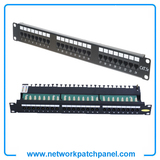 "19"" Inch 1U Cat3 RJ11 Rack Voice Patch Panels 24 Port RJ11 Telephone Patch Panel"