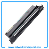 1U 19 Inch Cat3 RJ11 Voice And Data Patch Panel 25 Port Voice Patch Panel Manufacturers