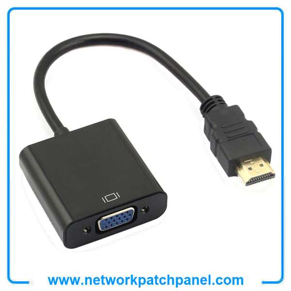 HDMI TO VGA Converter Adapter Cable With Audio