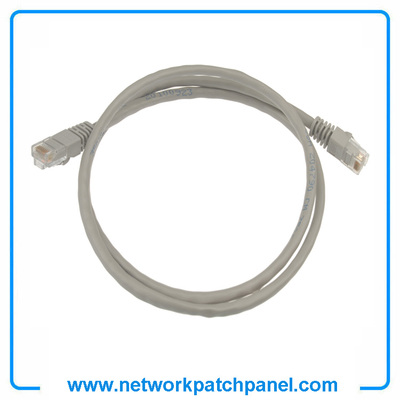 Cat5e Cat6 Gray Ethernet Network Cable Patch Cord China Cat5e Patch Cord Manufacturers