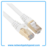 2FT 3FT 4FT 5FT 6FT 7FT 9FT Cat5E Cat6 Cat7 White Ethernet Network Patch Cables