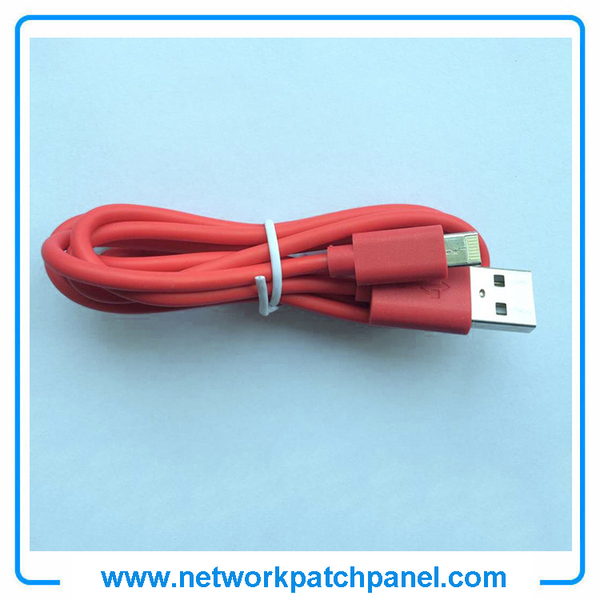 USB Android Apple Iphone Charger Cable Red