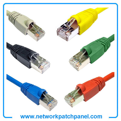 China RJ45 Patch Cord Manufacturers Ethernet Patch Lead CAT6 Network Cable Patch Cable