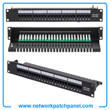 "Rack Mount Cat3 1U 19 Inch 19"" 50 Port RJ11 Telephone Data Voice Patch Panel"