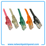 Cat5e Cat6 Green Orange Black Gray Red Ethernet Cable Lead Patch Cable Cord