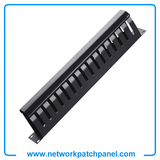 1U 16 Channel Network Patch Panel Cable Organizer Wire Organizer