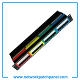 24 Port Cat 6 Colourful Network Patch Panel Factory Cat6 Patch Panel Manufacturers